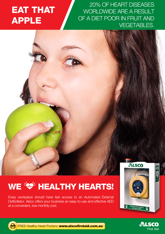 Heart Health Posters   Free Download   Alsco Australia