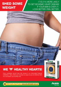 Heart Health Poster: Lose Weight