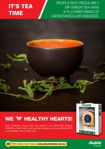 Heart Health Poster: Drink Tea