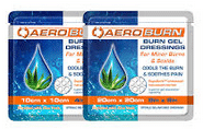 Aeroburn burn gel dressing