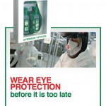 Wear Eye Protection Poster