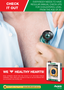 Heart Health Poster: Annual Check-up
