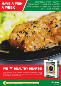 Heart Health Poster: Eat Fish