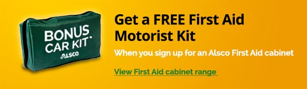 Free First Aid Motorist Kit