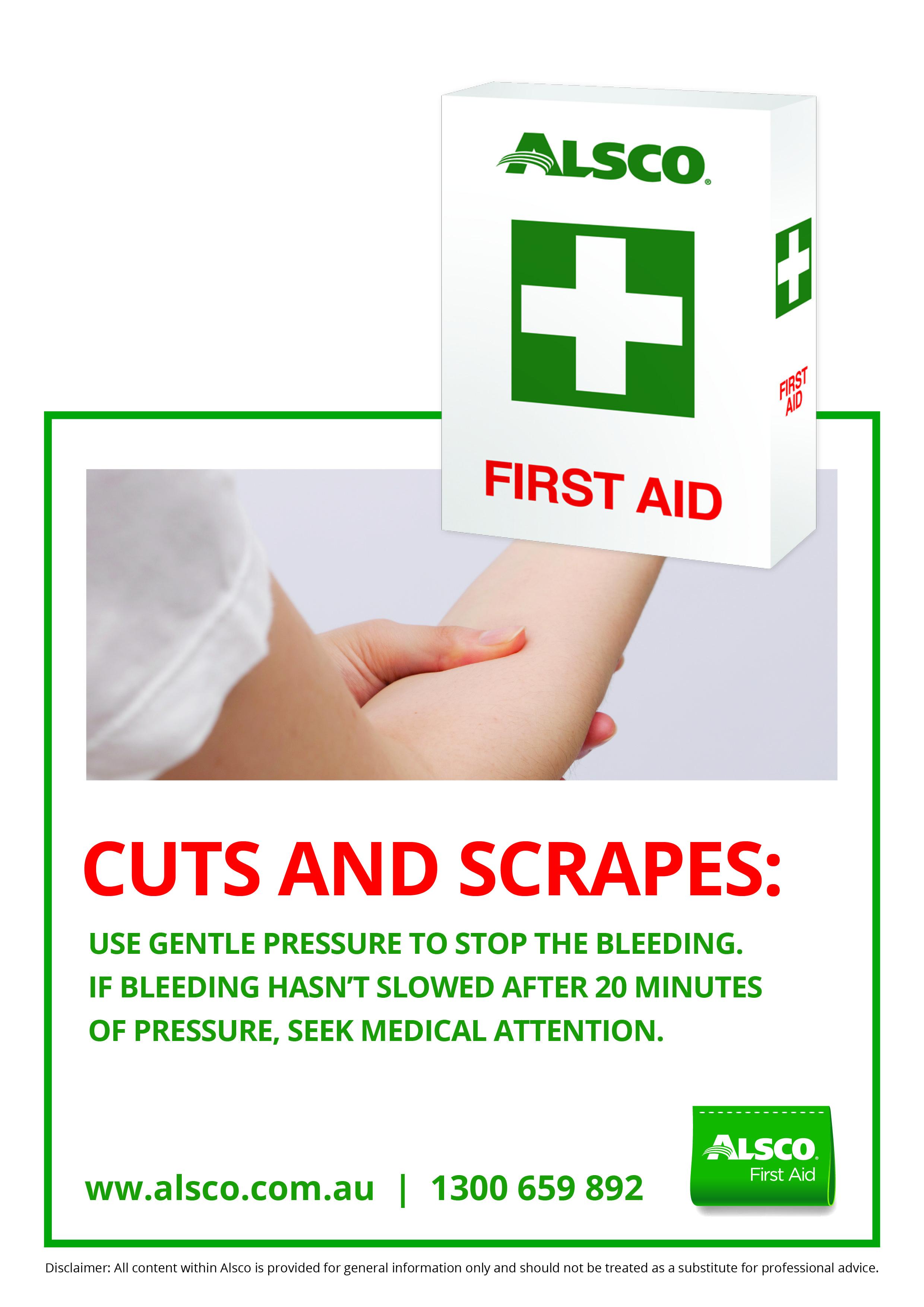 Cuts and scrapes