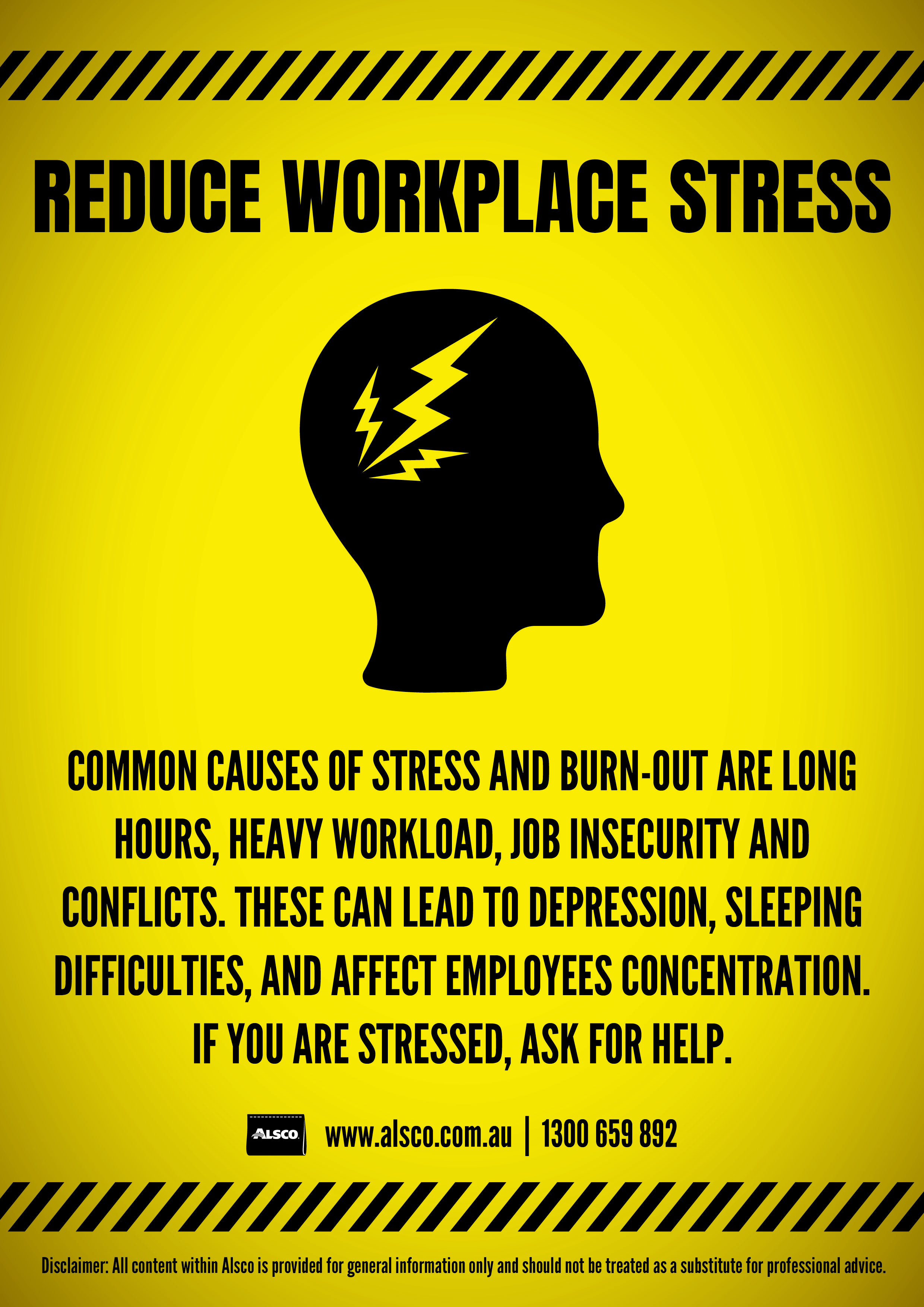 Unwind, rest or ask for help if you are stressed