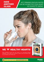 Heart Health Poster: Drink Water