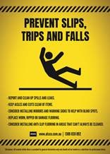 Always be careful when walking