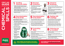 First Aid Guide for Chemical Spills
